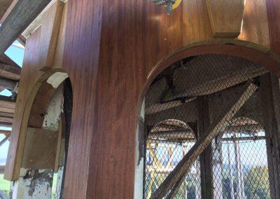 Cupola Timber Repairs After